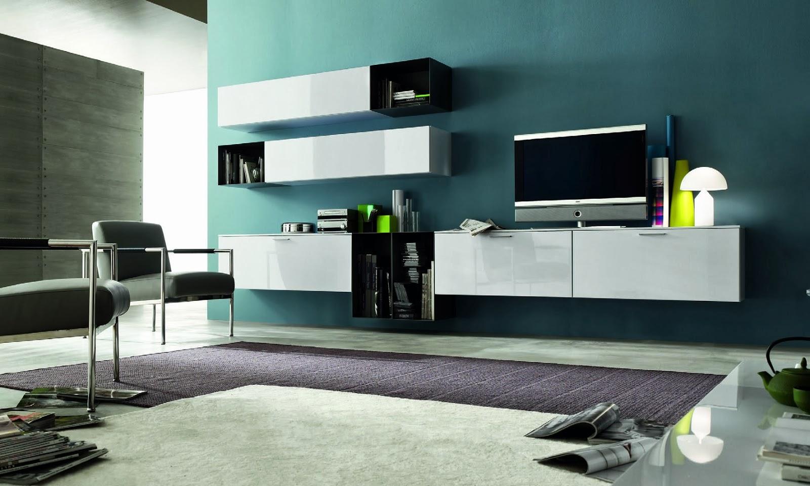 Soggiorno moderno essenza legno e laccato blog outlet - Mobile soggiorno design ...