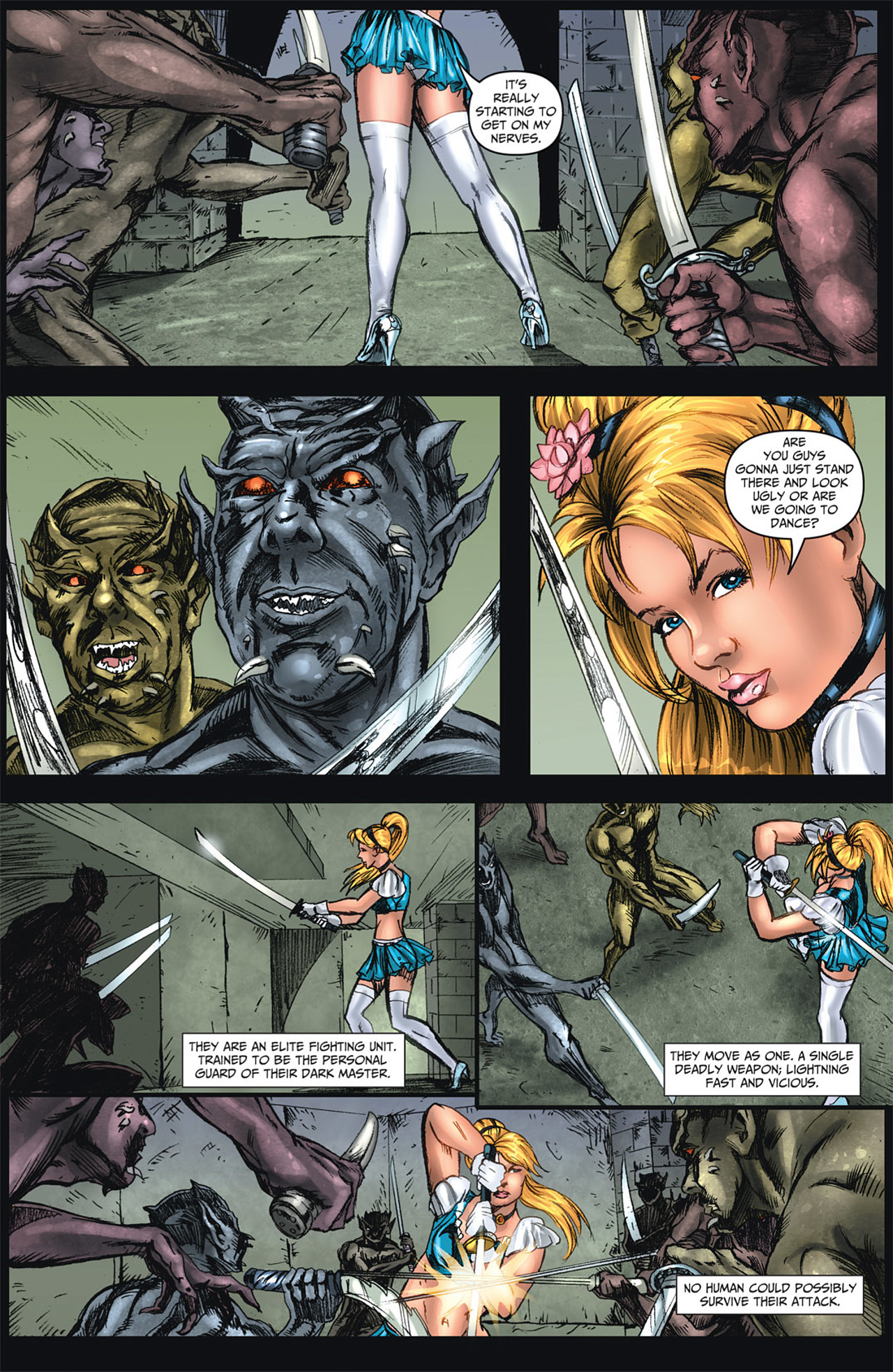 Grimm Fairy Tales (2005) Issue #47 #50 - English 4