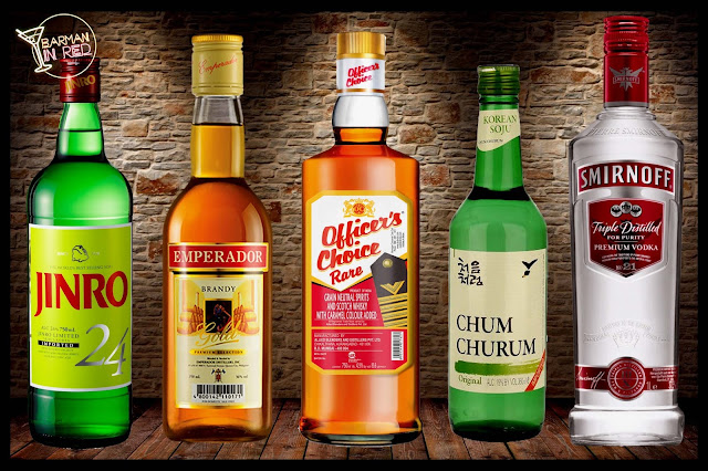 10 destilados mas vendidos del mundo