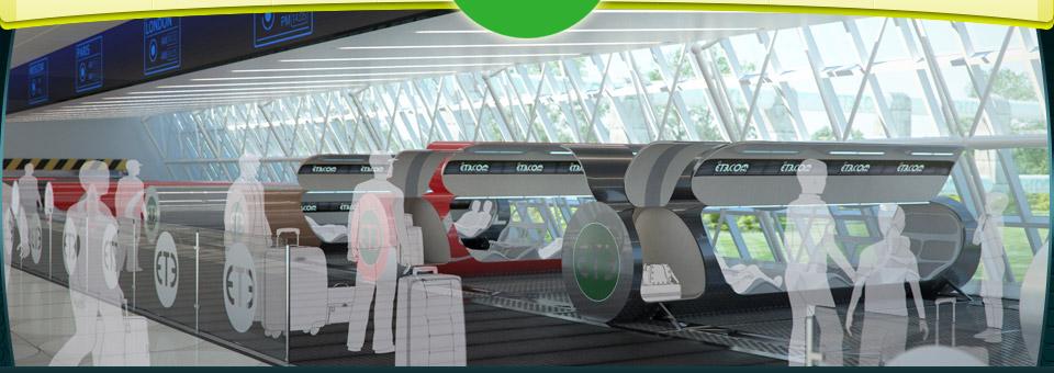 Futuristic tube transport system looks to speed passengers