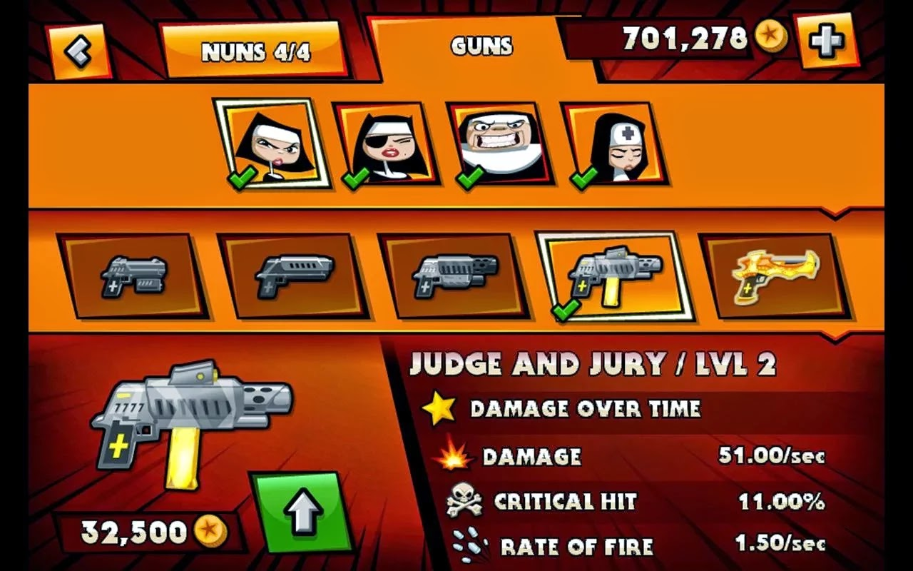 Nun Attack v1.0.14 Mod [Unlimited Coins]