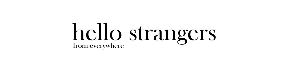 oh, hello strangers △