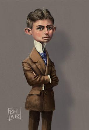 Francois Belair caricature