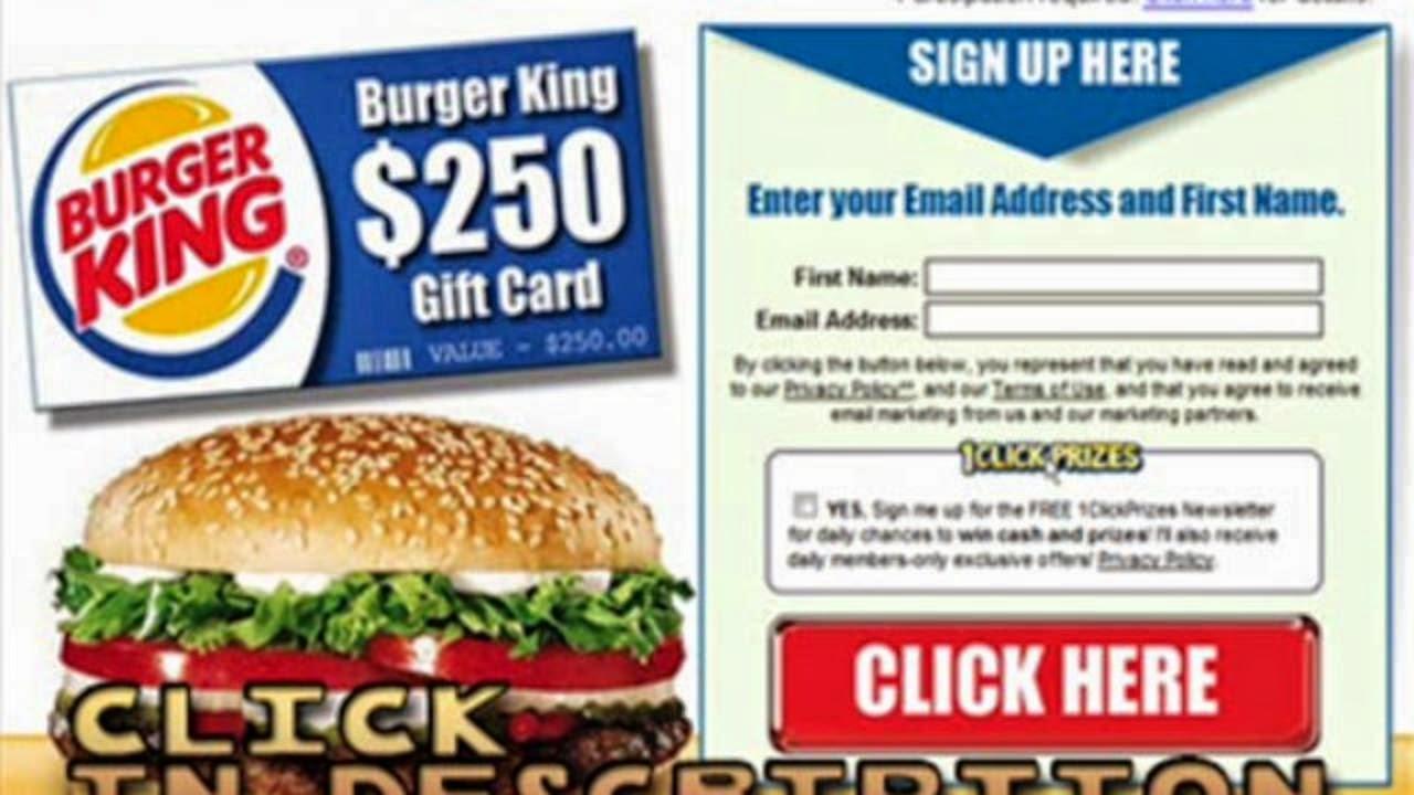 Bk coupon codes