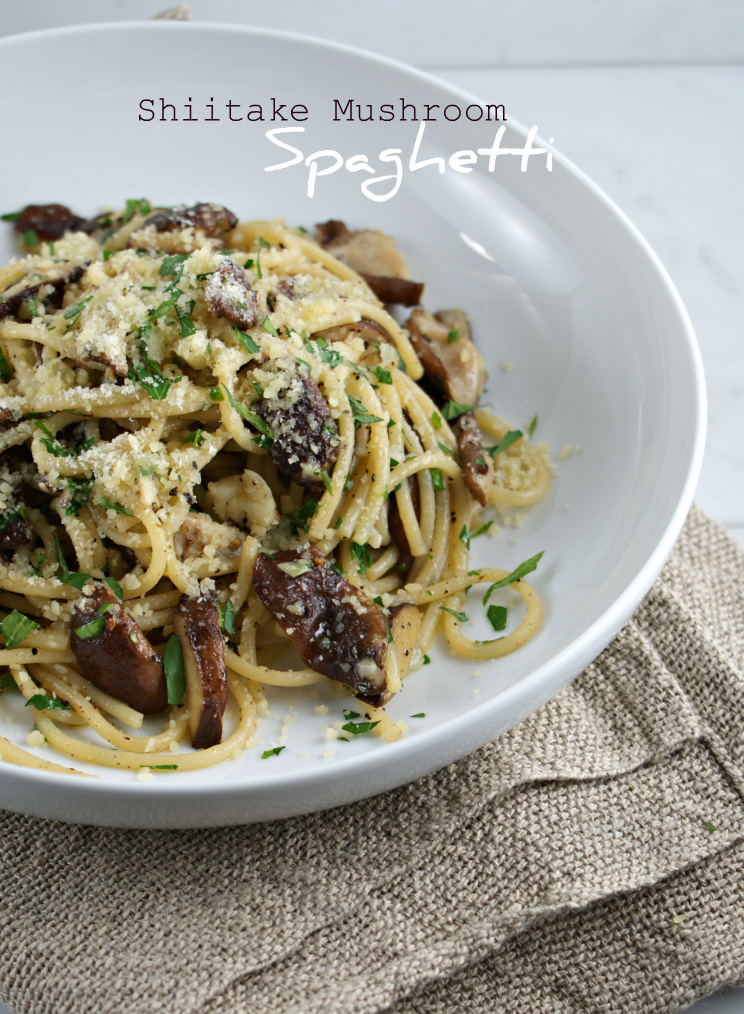 how to cook shiitake mushrooms for pasta