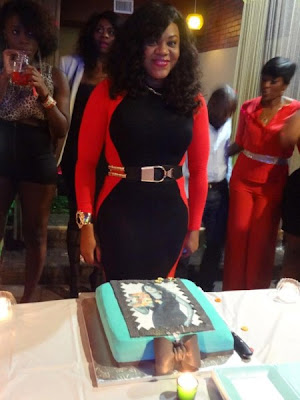 Stella Damasus Luxurious Birthday Pictures