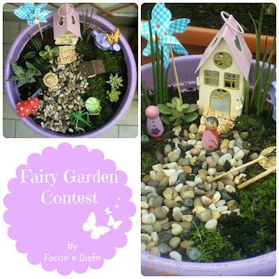 Fairy garde, contest giardini fatati, c'è crisi, c'è crisi