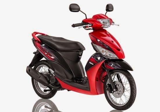 Yamaha Mio J FI Red