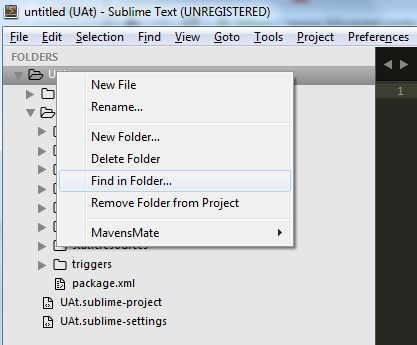 how to open a new tab in sublime text