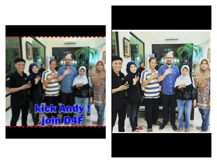Foto Kick Andy Join D4F