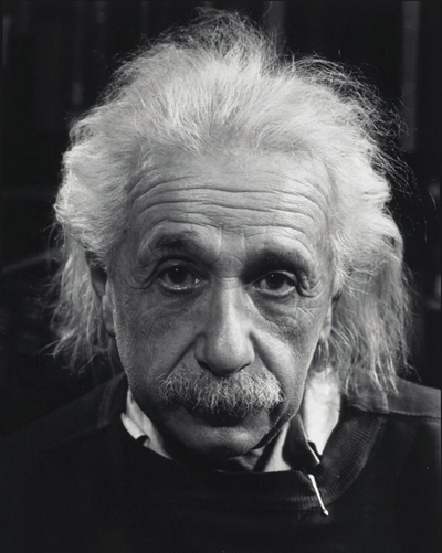 Albert Einstein Photography by Philippe Halsman