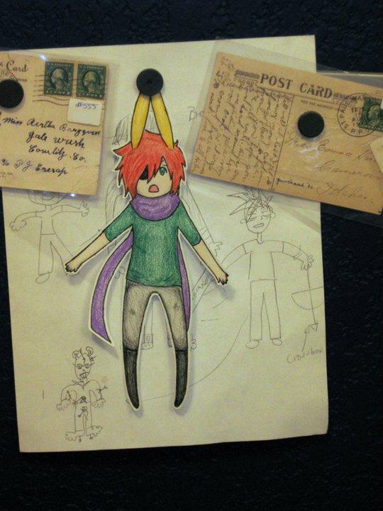 Figuras Anime en papel. 281405_10150264096224819_213182229818_7288123_230196_n