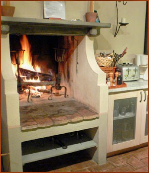 Kitchen Fireplace Spitjack