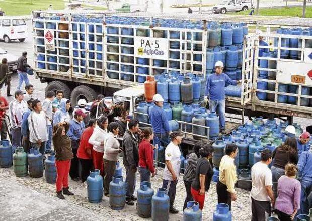 escasez de GLP en Quito
