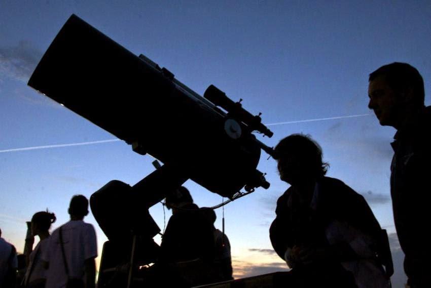 Telescop - utilizare