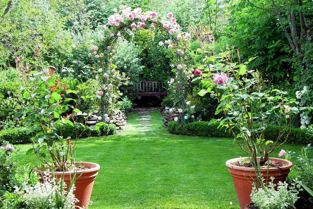 World home improvement good garden design the key to for Your garden design