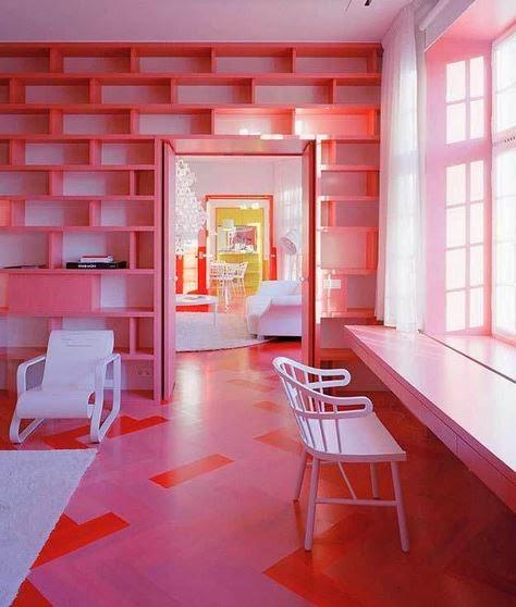Estudio nap blog colorido apartamento en estocolmo inspirado en los cambios de color de las - Apartamentos en estocolmo ...