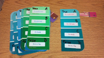 Fern Smith's Classroom Ideas Whole Class Answer Cards and I Need Help Cards