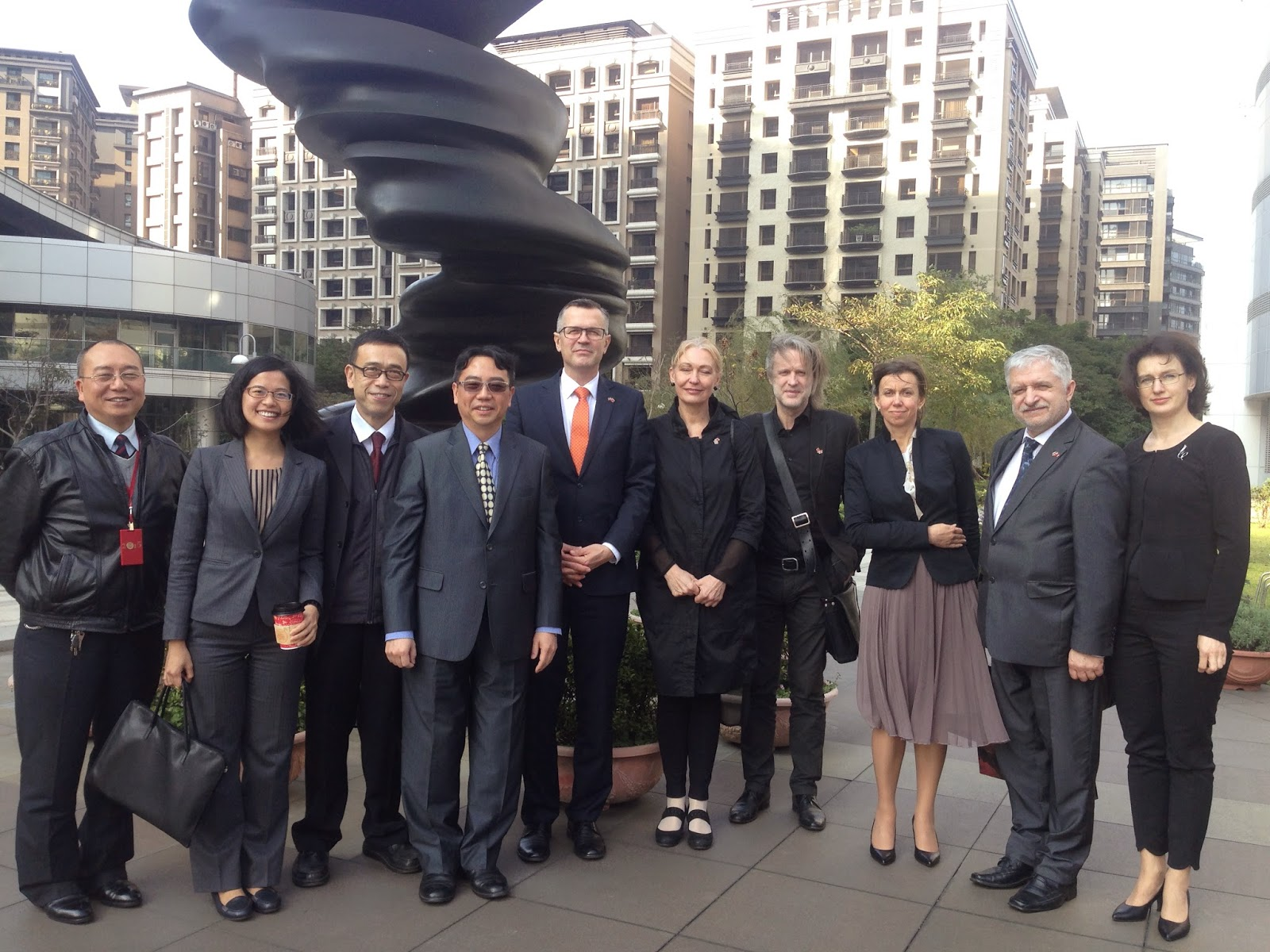 拉脫維亞國會友台小組參訪團