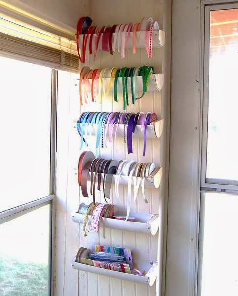 PVC Pipe Ribbon Holder