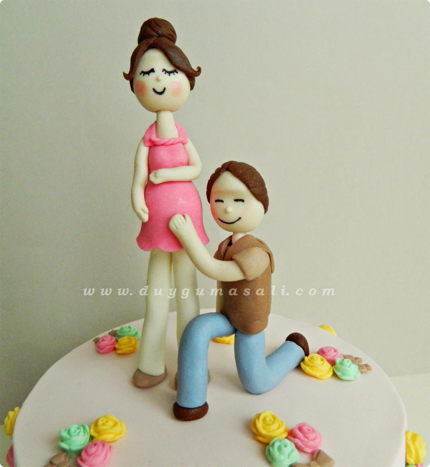 hamile kadın butik pasta