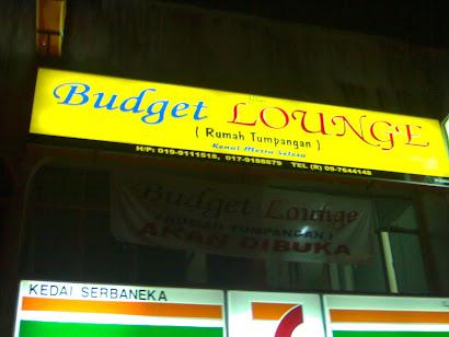Budget Lounge Rumah Tumpangan
