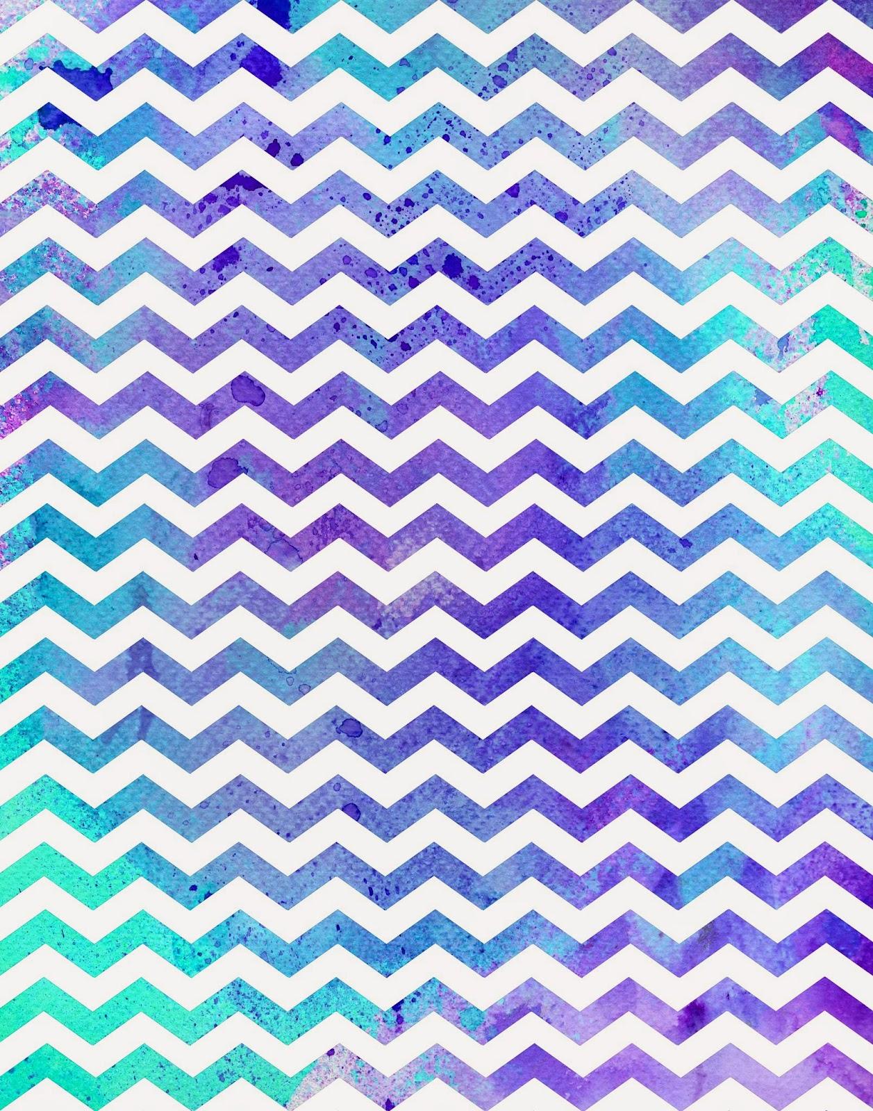Purple and white chevron background