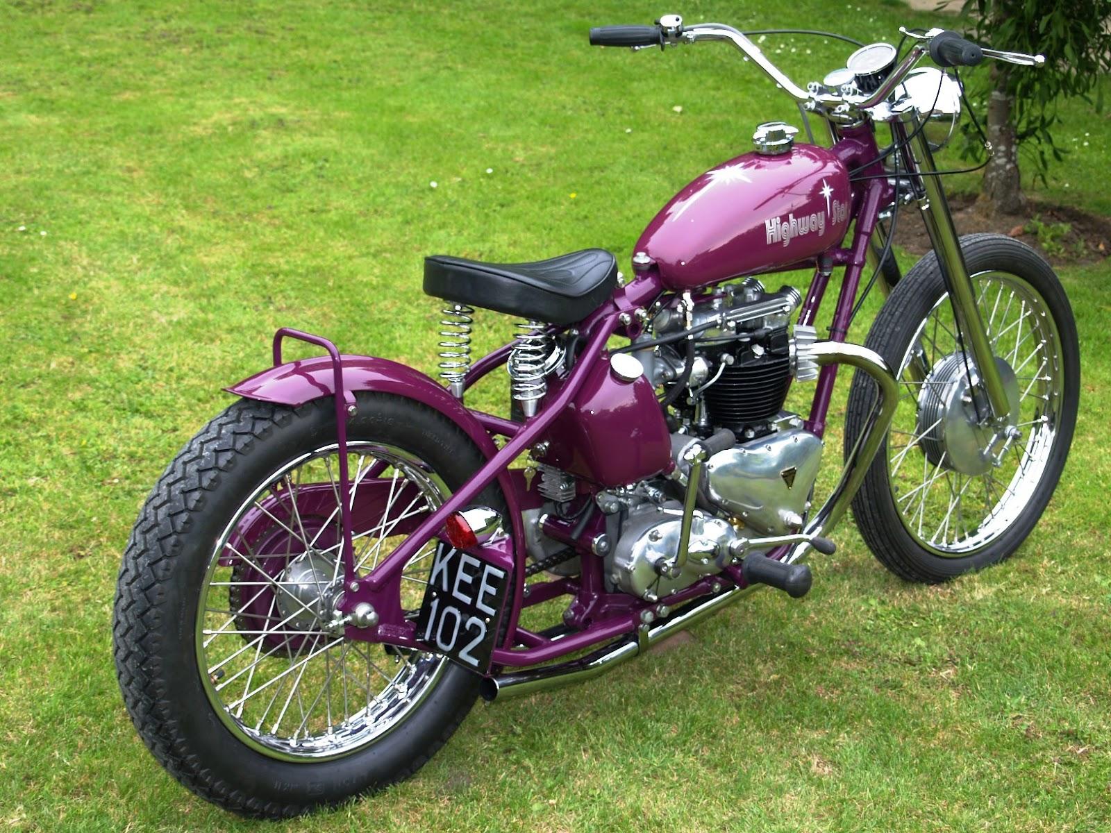 Triumph 650 bobber