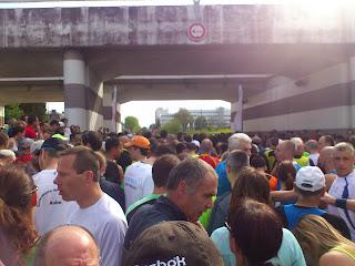 départ du semi marathon de Troyes 2013