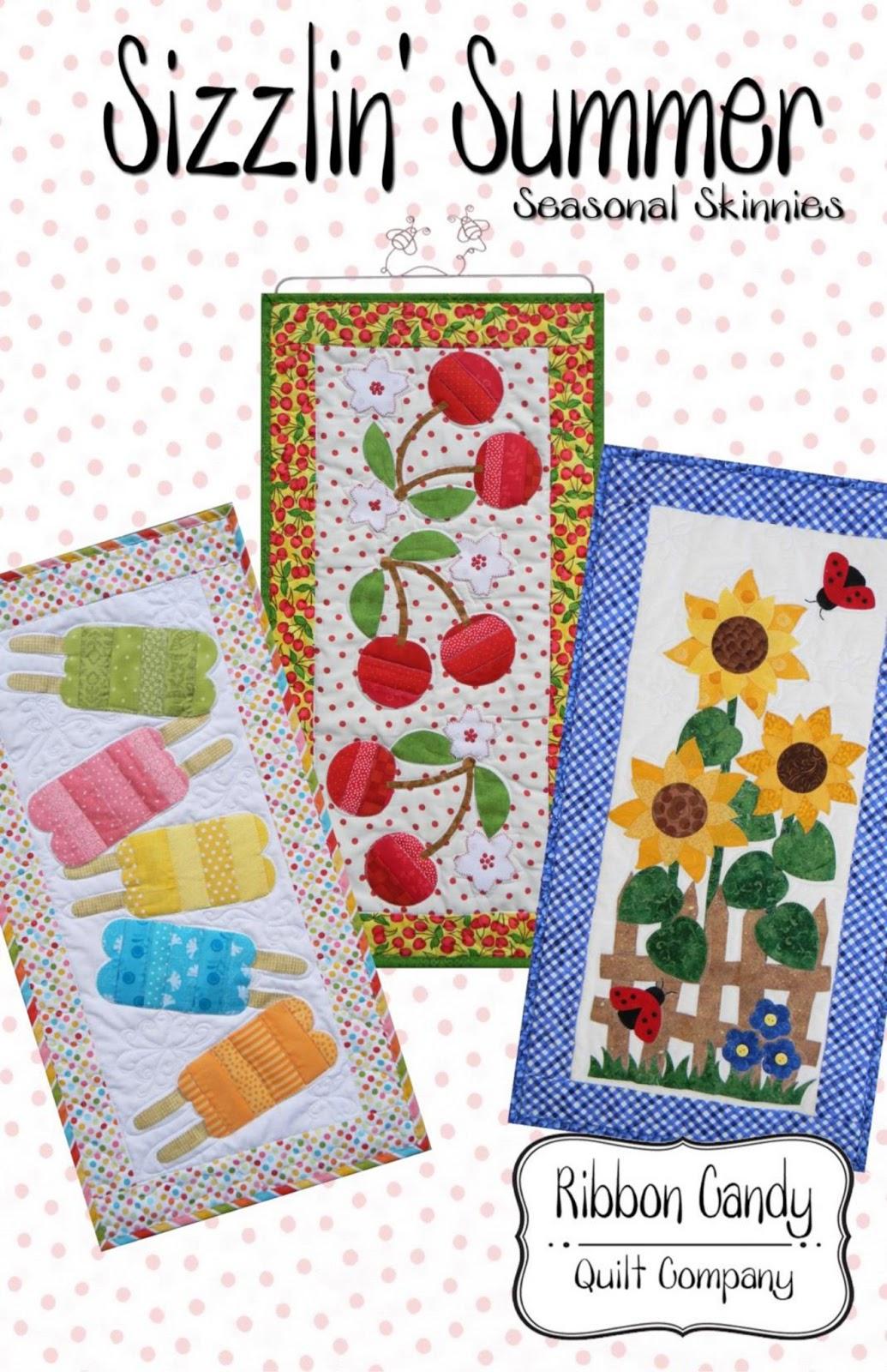Ribbon Candy Quilt Company: Seasonal Skinnies Patterns : ribbon candy quilt - Adamdwight.com