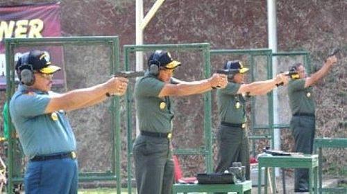 TNI AD juara menembak kompetisi Panglima Cup