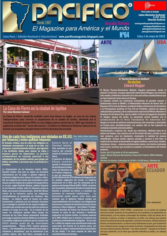 Revista Pacífico Nº 64 Turismo