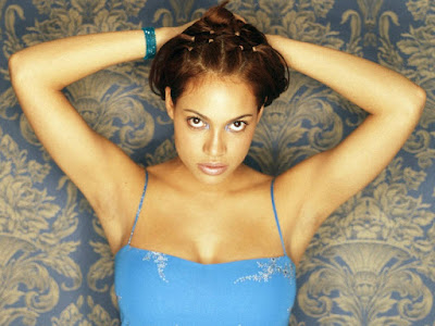 Rosario Dawson Sexy Pose Wallpaper