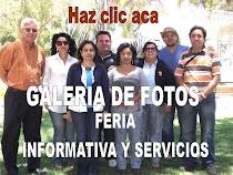 GALERIA DE FOTOS FERIA INFORMATIVA Y SERVICIOS