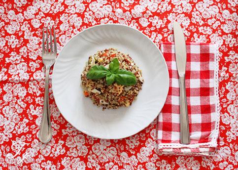 insalata di quinoa ...siamo nel pieno dell'estate!