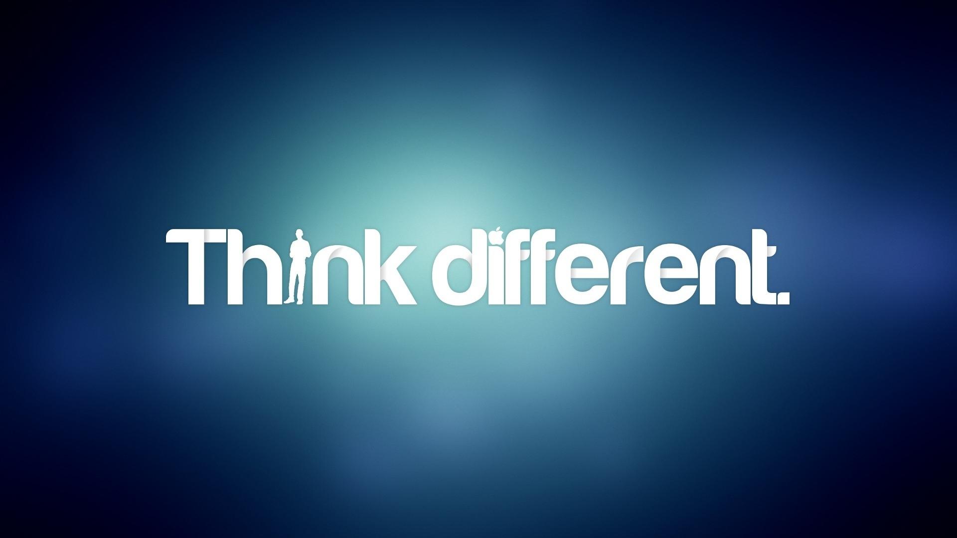 think different logo wallpaper 736006