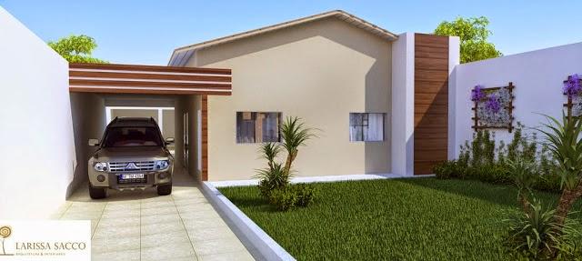 Casa fina decor fachadas de casas simples bonitas e for Fotos de casas modernas simples
