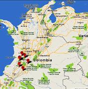 Imágenes recientes de los mapas actualizados de Colombia con las principales . (carreteras mapa vial colombia)