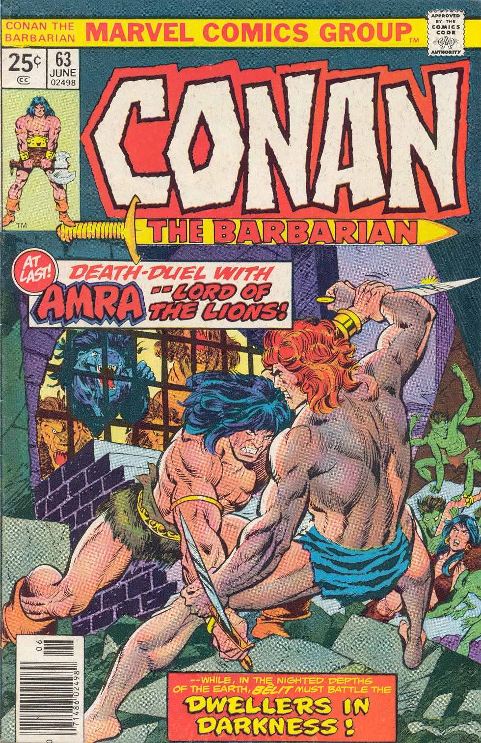 Conan the Barbarian (1970) Issue #63 #75 - English 1