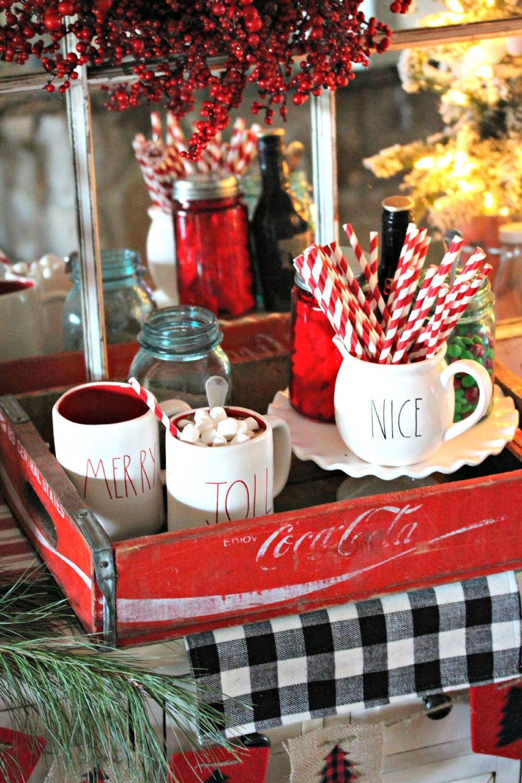 Rustic Hot Chocolate Station