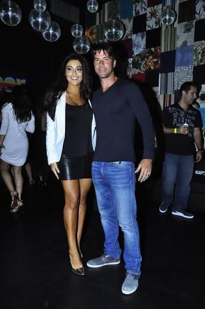 Juliana Paes e seu marido, Carlos Eduardo Baptista (Foto: Roberto Teixeira)