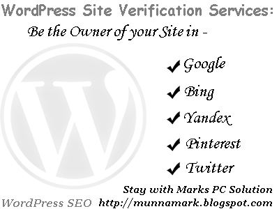 WordPress Site Verification Services