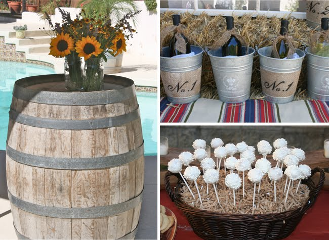 Rustic wedding shower cake ideas and designs
