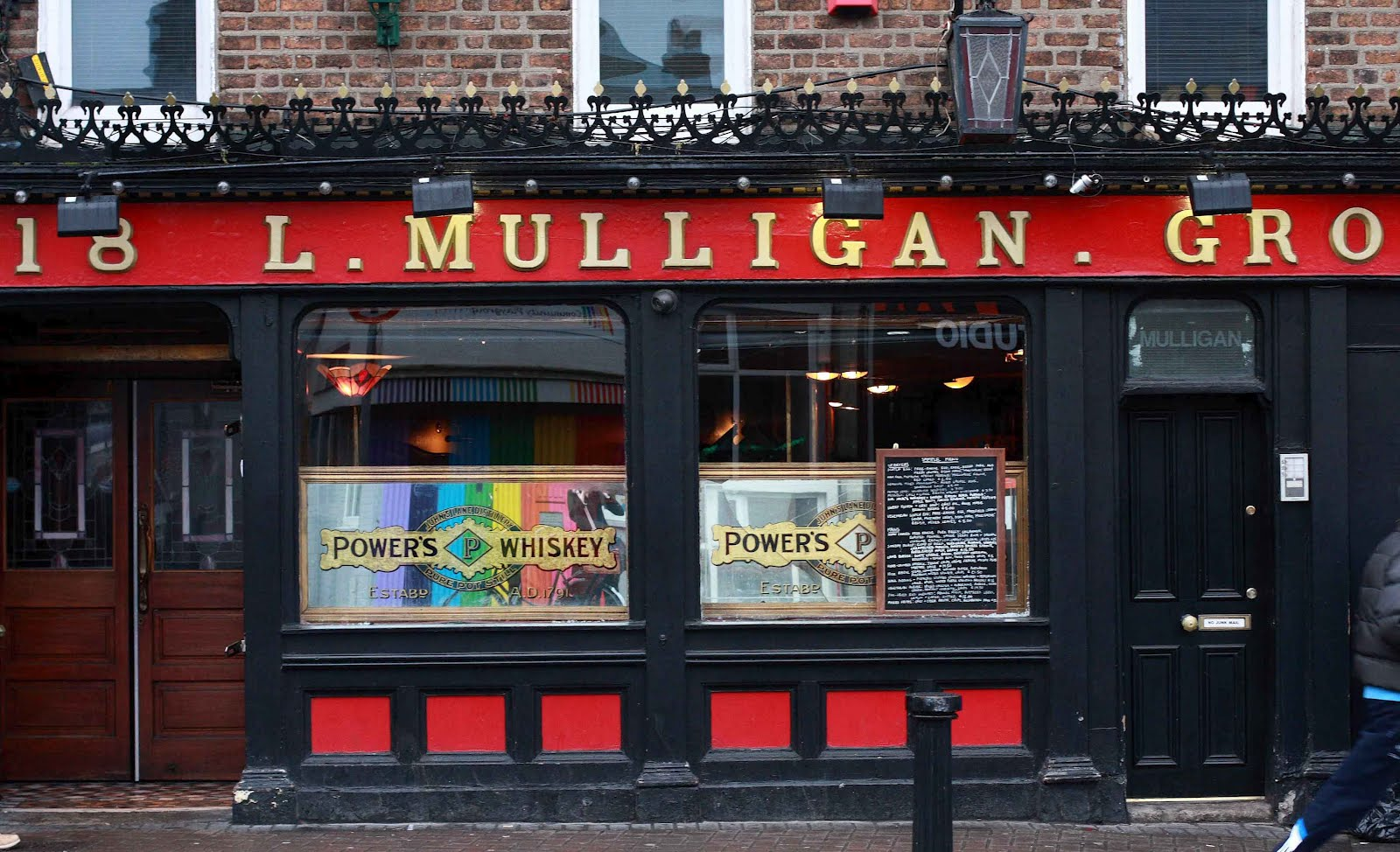 Survival guide dublin with food allergies drinking for Bar food dublin 2