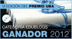 Primer premio VI Concurso UBA 2012