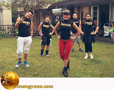 FOTO : Liza Natalia Instruktur senam