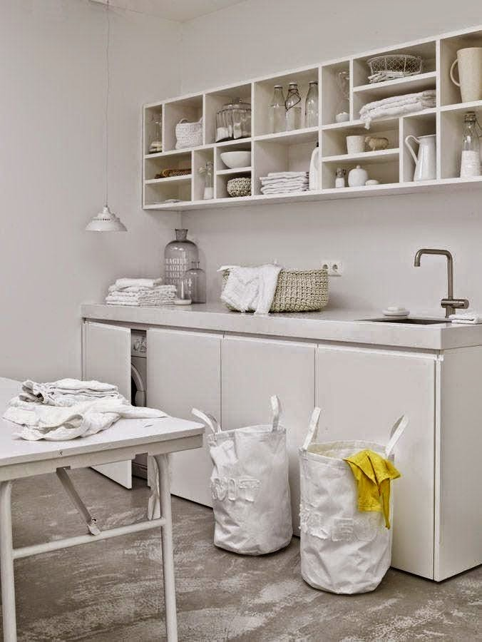 Decotips integrar la zona de lavadero en la cocina for Cuartos lavaderos