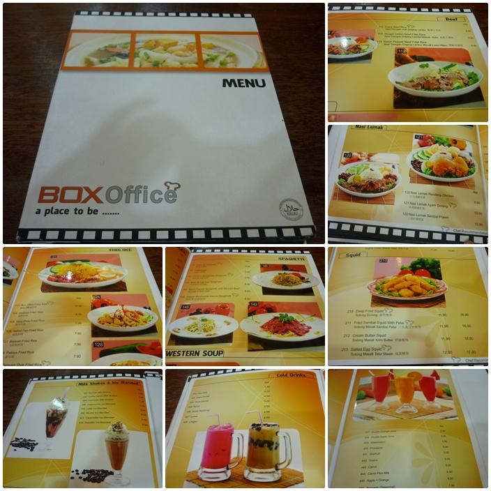 My life my loves box office cafe wangsa walk for Loves fish box menu