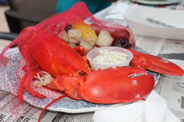 lobster, clambake