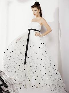 Vestidos de Novia Blanco y Negro, parte 1